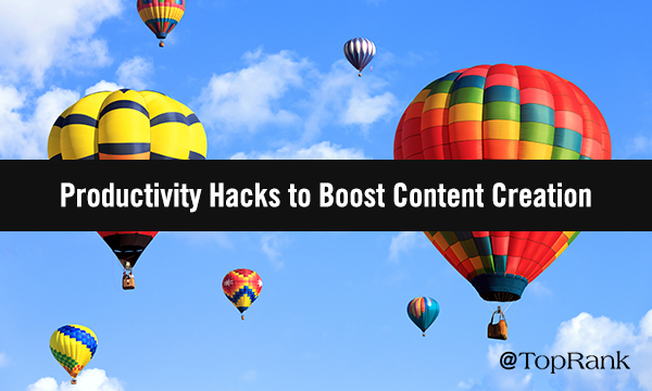 5 Productivity Hacks to Bring Content Creation From Failing to Flying High